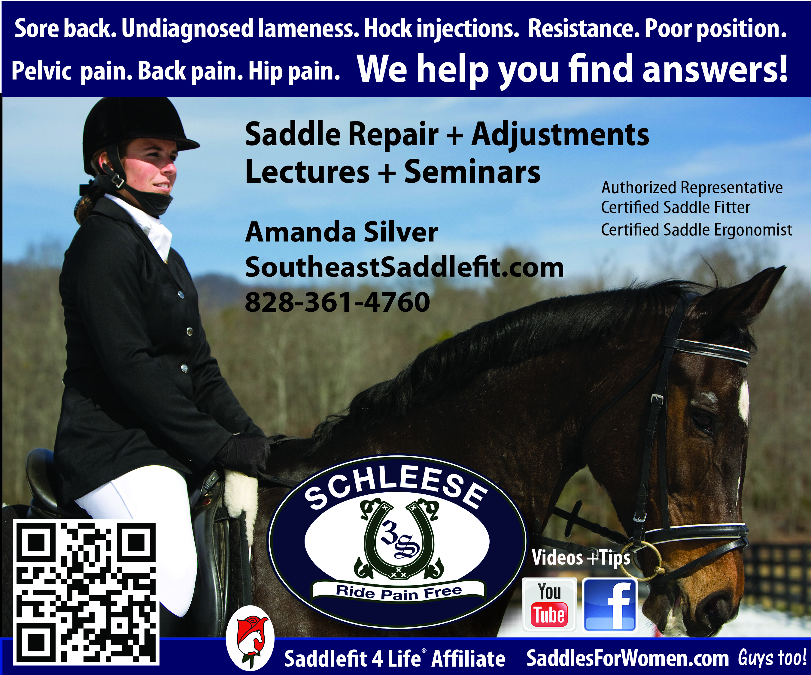 Southeast Saddle Fit/ Amanda Silver